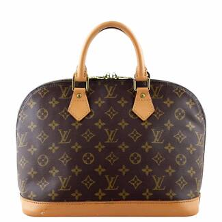 Authentic Louis Vuitton Alma Monogram PM