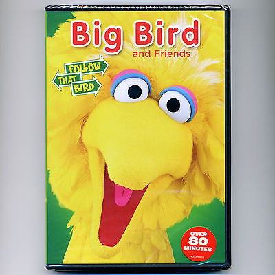 Sesame Street: Big Bird & Friends G TV, new DVD preschool educational video PBS