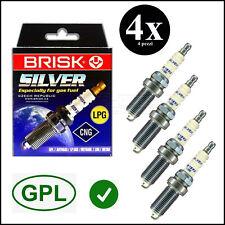 LR15YS nr 4 Candele GPL METANO LADA NIVA 1600 4X4 BRISK