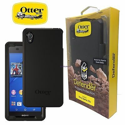 New OtterBox Defender Series Case for Sony Xperia Z3V -  Black