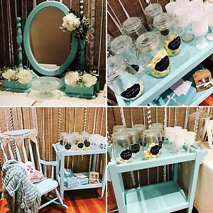 Tiffany blue baby shower event decor decorations Pearsall Wanneroo Area Preview