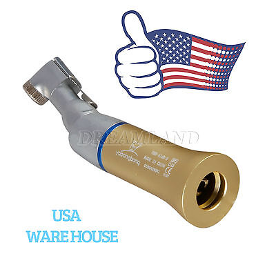 3x US Gold Dental NSK Type Slow Low Speed Handpiece Latch Contra Angle Handpiece - $46.90