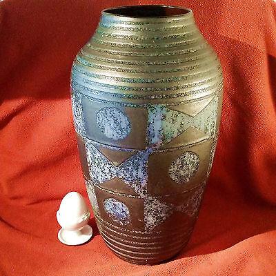 Große Vase Dekor Ankara Carstens Tönnieshof 60er Jahre  1231-37 WGP