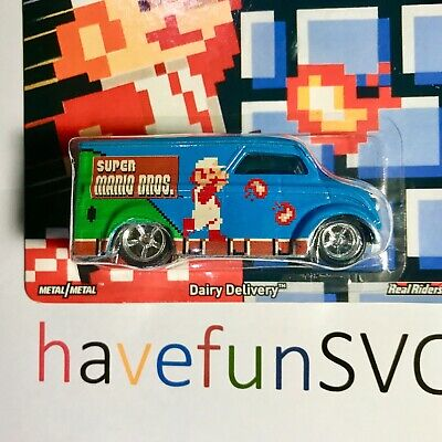 Super Mario World Dairy Delivery 2015 Hot Wheels Real Riders Car Culture