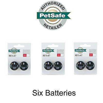 PetSafe RFA-67D-11 Batteries 6 Volt 3-Packages of 2 Batteries Total 6 (Petsafe Battery)