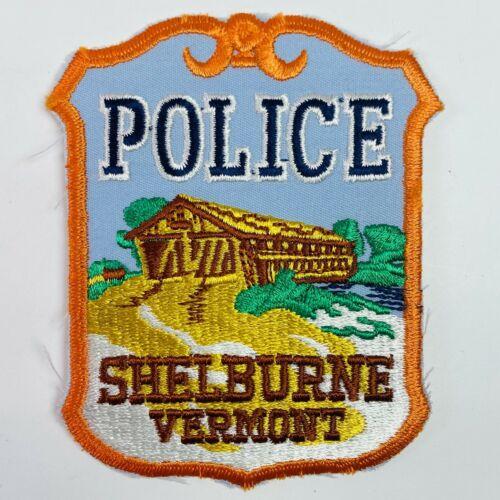 Shelburne Police Vermont VT Covered Bridge Patch