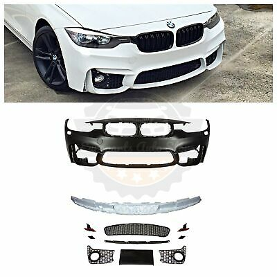 2012-18 F80 M3 STYLE FRONT BUMPER FOR BMW F30 F31 3 SERIES SEDAN WAGON NO PDC