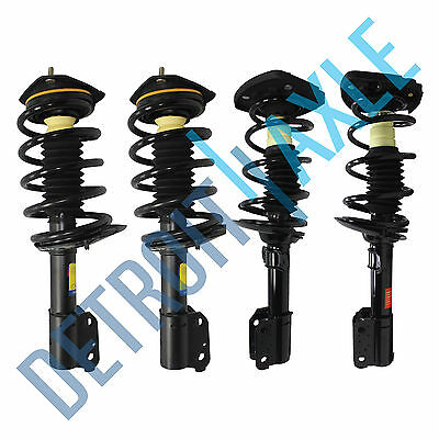 All 4 Front  Rear Complete Strut  Spring Assembly for Chevy Impala 16 Wheel