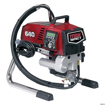 Titan 640 Impact Skid Airless Paint Sprayer 805-002 805002 Fast Free Shipping