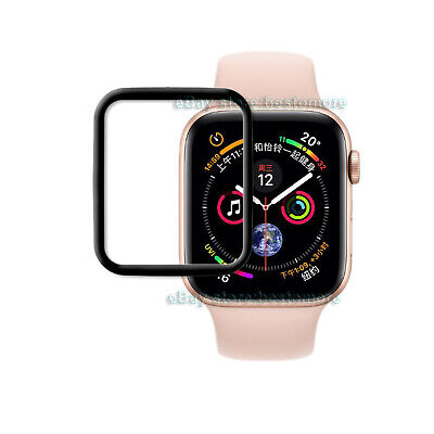 Tempered Glass Screen Film Protector Skin For Apple Watch Series 4 iWatch 4 44mm