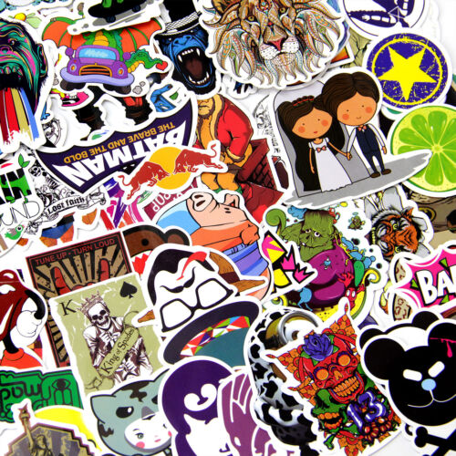 Home Decoration - 1000x Vinyl Decal Graffiti Stickers Bomb For Car Luggage Laptop Skate Waterproof