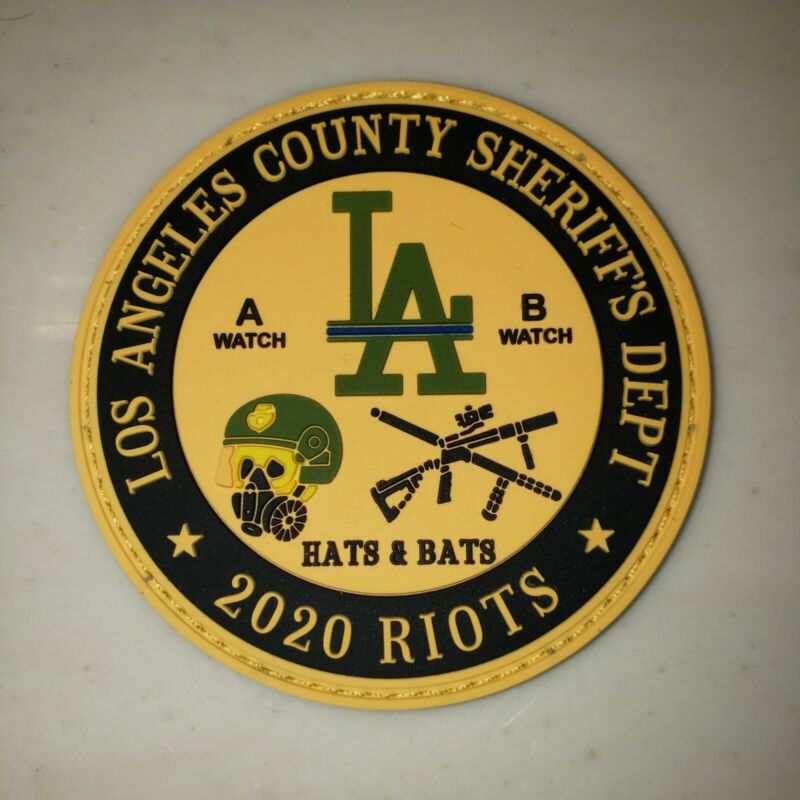 Los Angeles County Sheriff Department 2020 Riots PVC Patch 3inch