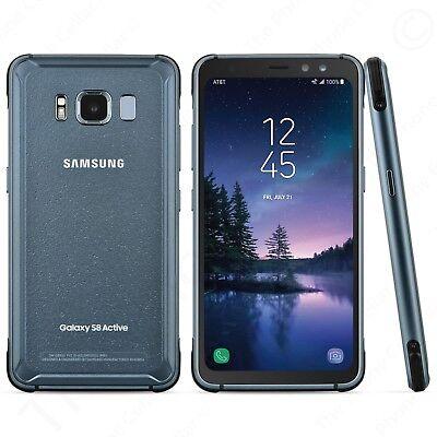 Unlocked Samsung Galaxy S8 Active SM-G892U Gray 64GB GSM Smartphone