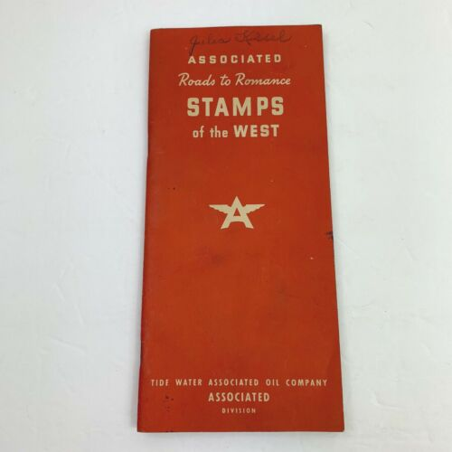 Associated Roads to Romance Stamps of the West Book Tide Water Veedol Tyrol 1939