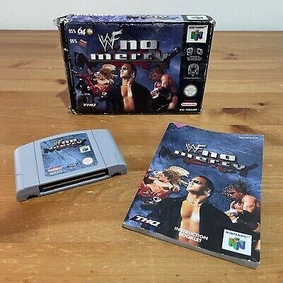 WWF No Mercy (Nintendo 64, UK PAL) – Boxed with instructions