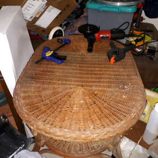 Table hand made
