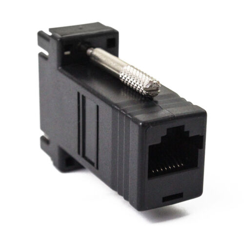 10~30PCS Extender VGA Male to LAN CAT5 CAT6 RJ45 Network Cable Female Adapter US