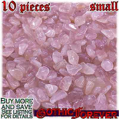 - 10 Small 10mm Combo Ship Tumbled Gem Stone Crystal Natural - Aventurine Red
