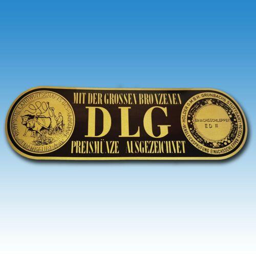 DLG Auszeichnung Bronzene Preismünze Holder Einachsschlepper ED II 40115540 Foto 1