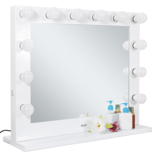 Vanity Mirror With Light Hollywood Makeup Lighted Mirror With Dimmer Free Bulbs - $115.00