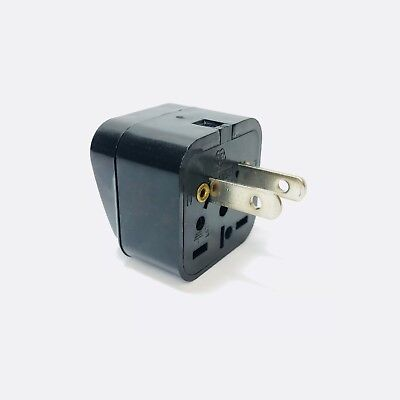 Type A Plug Adapter  Foreign Universal to North American USA Style 2 Flat Prongs