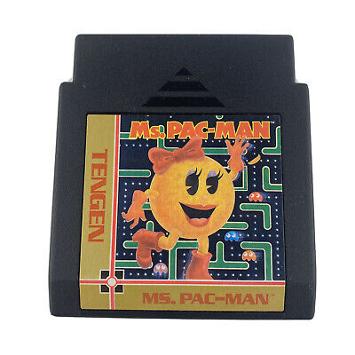 Ms Pac Man Tengen (Nintendo Entertainment System NES) Cart Only Cleaned Tested