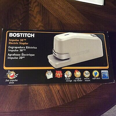Bostitch Impulse 30 Sheet Electric Stapler Black 02210