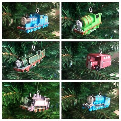 Nickelodeon Thomas The Train And Friends Christmas Ornaments!! Set Of 6!!