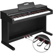 88 Key LCD Digital Electric Piano Keyboard 3 Pedal Board Cover Adapto