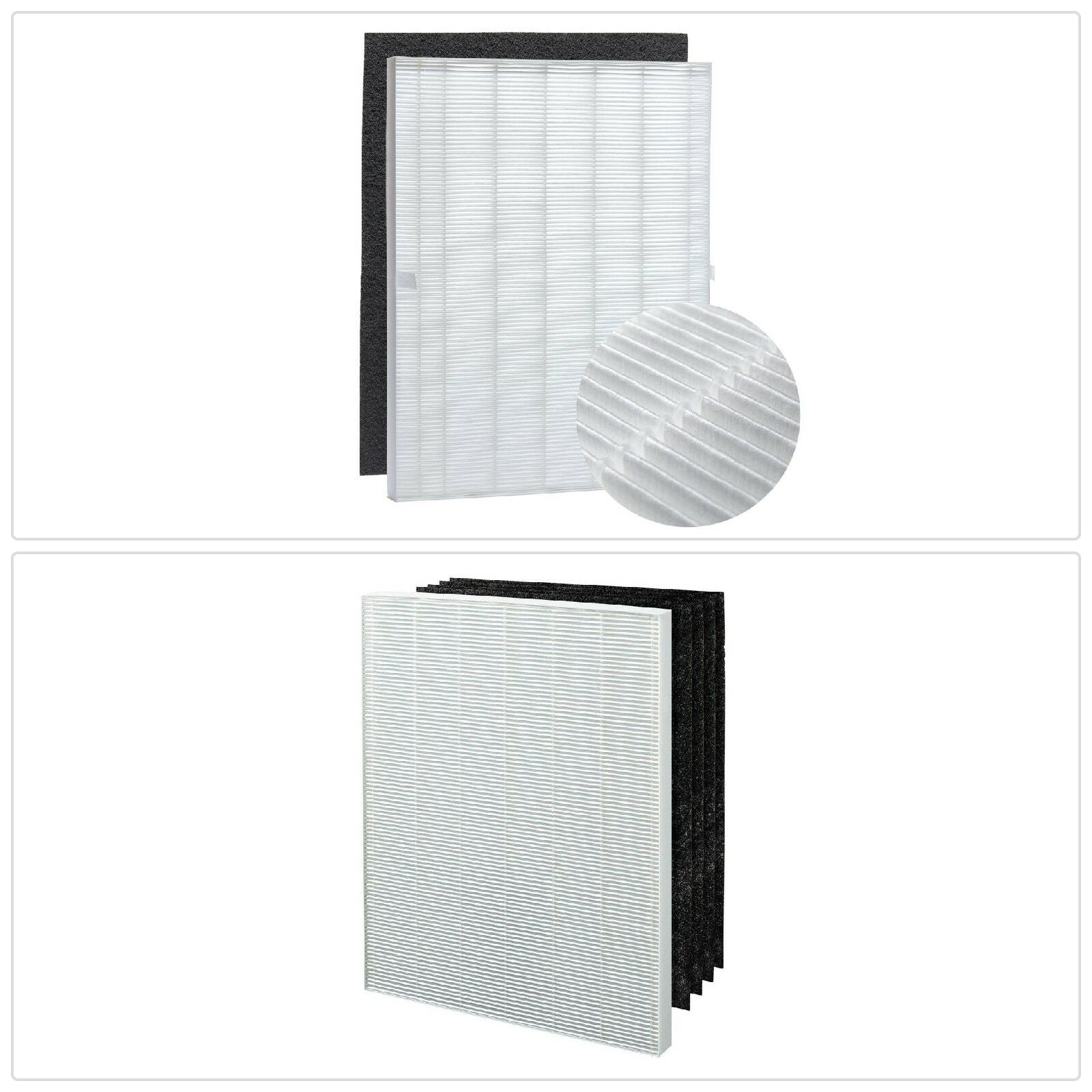 True HEPA 4 Filter Activated Carbon Replacement Filter A Fits Winix Air Cleaner