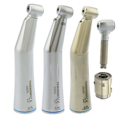 Coxo Yusendent Dental Inner Water Low Speed Contra Angle Led Fiber Handpiece