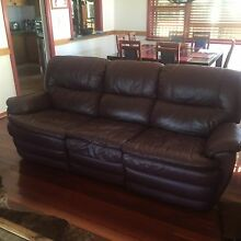 Leather lounge suite Mount Riverview Blue Mountains Preview