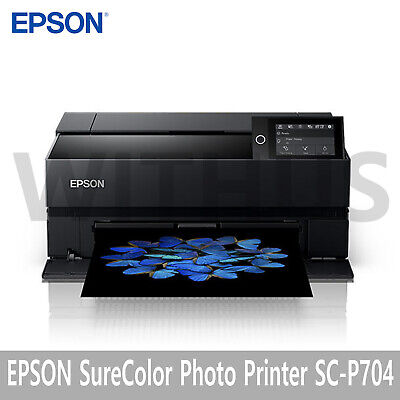 """Epson SureColor Photo Inkjet Printer SC-P704 13"""" WiFi 100-240V"""