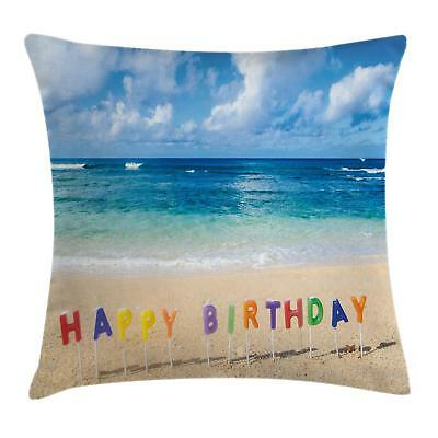 Colorful Birthday Throw Pillow Cases Cushion Covers Home Dec