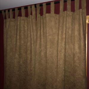 Curtains bought from Creative Draperies