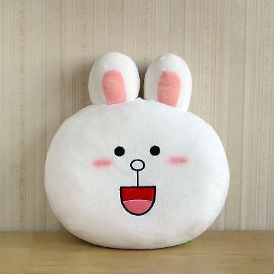 Korea Naver Line Friends Character Cute Cony Mascot Face Cushion Pillow L065