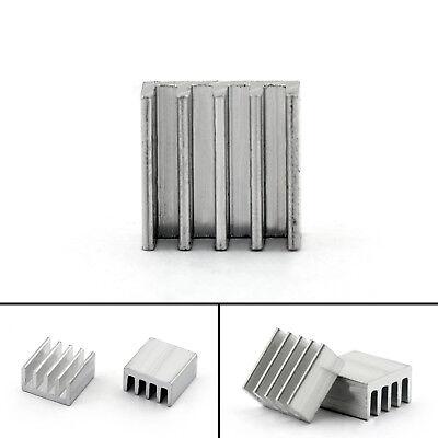 40pcs Heat Sink Cooler 9x9x5mm Radiator For Power Cpu Transistormosfetic Ue