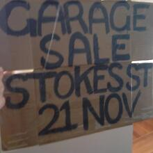 GARAGE SALE: 7 STOKES STREET GRIFFITH ACT ****ON TODAY*** Griffith South Canberra Preview