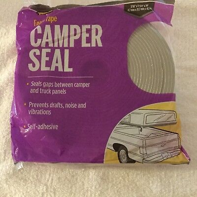 Md 02352 Self-adhesive Camper Truck Panel Seal Foam Tape 316 X 1-14 X 30ft