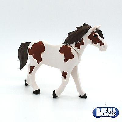 playmobil® Western Reiterhof: Stute | Hengst | Pferd braun | weiss 3. Generation