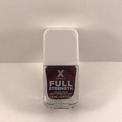 Formula X FULL STRENGTH NAIL TREATMENT - BULLETPROOF Maroon Mink/Taupe x - Full Treatment Formula