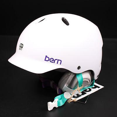 Bern Casco Lenox Fina Cáscara Invierno Uso De XS/S 52-55, 5 Esquí...