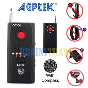 2aaf6bdc8be Hidden Camera GSM Audio Bug Finder GPS Signal Lens RF Tracker Anti Spy  Detector
