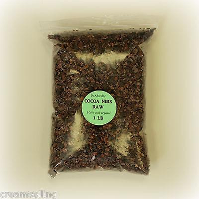 4 Oz Best Organic Superfood RAW Cocoa Nibs Cacao Pure Antioxidant Pesticide - Pure Cocoa Antioxidant