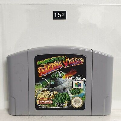 Space Station Silicon Valley Spacestation RARE Nintendo 64 N64 Game PAL oz152