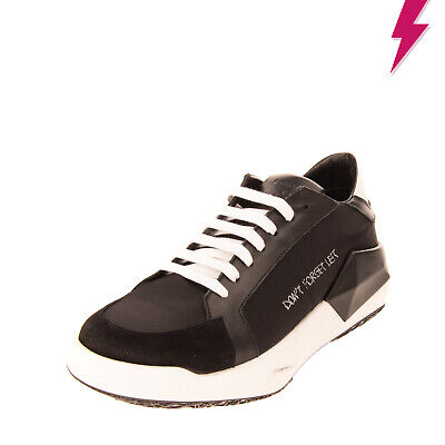 RRP €490 CINZIA ARAIA Leather Sneakers LEFT SHOE ONLY Size 41 UK 7 US 8