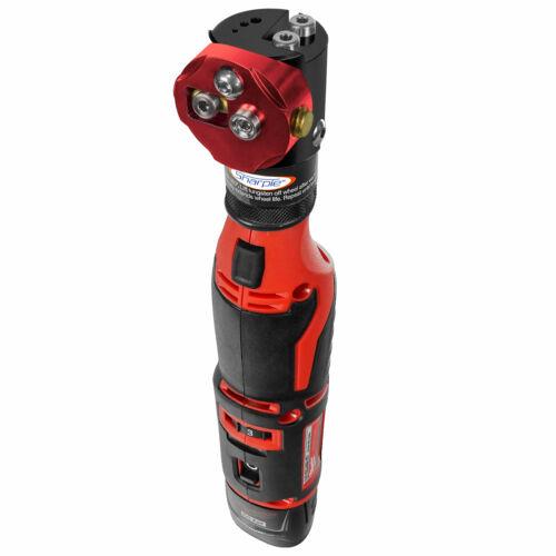 Cordless Sharpie DXCL™ Tungsten Grinder Adjustable 15°- 45° Red/Black