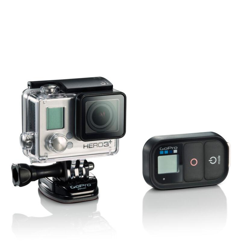 GoPro Hero 3+ Black Actionkamera 4K Wasserdichte - Zertifiziert Aufgearbeitet