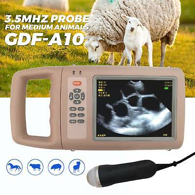 Portable Veterinary Ultrasound Scanner Kit With 3.5mhz Probe For Medium Animals