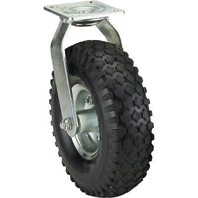 Ironton 10in. Swivel Pneumatic Caster - 300-lb. Capacity Knobby Tread